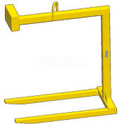 M&W Fixed Bale Lift Pallet Lifter - 2000 Lb. Capacity