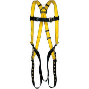 Safety Works Harness, Tongue Buckle, 3 D-Rings, XL, 10096491 - Pkg Qty 3