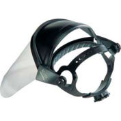 Ratchet Adjustable Headgear With Faceshield - Pkg Qty 3