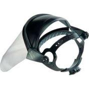 Ratchet Adjustable Headgear With Faceshield - Pkg Qty 3