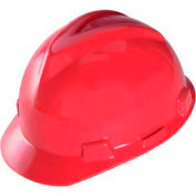 Hat, V-Gard, Fas-Trac, Red, Large - Pkg Qty 20