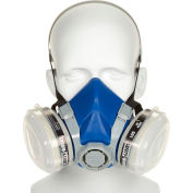 Half-Mask Paint & Pesticide Respirator, Safety Works SWX00318