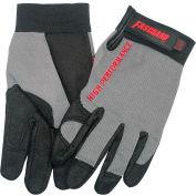 High Performance Multi-purpose Work Gloves, C900XL X-Large, Black/Gray - Pkg Qty 12