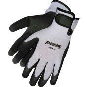 Latex Textured Palm Work Gloves, C9688L Large, Gray - Pkg Qty 12