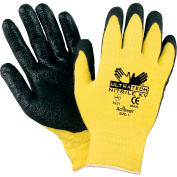 Coated Cut Protection Work Gloves, C9693XL X-Large, Yellow/Black - Pkg Qty 12