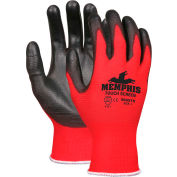 Touch Screen Performance Coated Work Gloves, SWX00123 Large, Red/Black - Pkg Qty 12