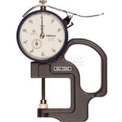 """Mitutoyo 7304S 0-1"""" Flat Standard Dial Thickness Gage"""