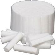 """Defend® Non-Sterile Cotton Rolls, #2, Medium 1-1/2"""" x 3/8"""", Box of 2000"""