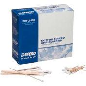 """Defend® Non-Sterile Cotton Tipped Applicators, 3""""L Dowel, 1000/Box"""
