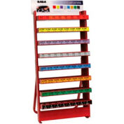 Large Free Standing Wheel Weight Rack Only