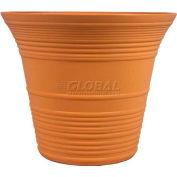 "Listo™ Sedona Elite Planter SEA16001C22, 13-1/2""H X 16"" Dia., Americana Yellow"