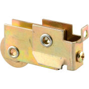Prime-Line N 6574 Mirror Door Roller Assembly, 1-1/8-Inch Steel Ball Bearing Wheel