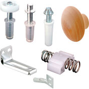 "Prime-Line N 7283 Bi-Fold Door Repair Kit, For 7/8"" Track, Used with 3/8"" Outside Diameter Pivots"
