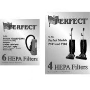 Perfect Products HEPA Filter, White 4/Pack - 15-1801 - Pkg Qty 4