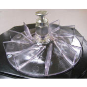 Perfect Products Reinforced Replacement Fan, Clear Plastic - 28