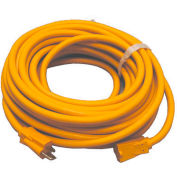 Perfect Products 50' Extension Cord 14/3 600 Volt Heavy Duty Insulated Yellow - 926Y