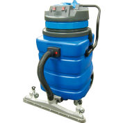 Perfect Products 23 Gallon Two-2 Stage Motor Wet/Dry Vac w/5-Piece Tool Kit & Squeegee, Blue - BF591