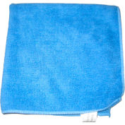 "Perfect Products Microfiber Cloths 16"" x 16"", Blue, 200 Cloths/Pack - CSA002E - Pkg Qty 200"