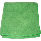 "Perfect Products Microfiber Cloths 16""x16"", Green 200/Pack - CSA004E - Pkg Qty 200"