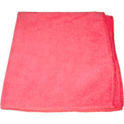 "Perfect Products Microfiber Cloths 16""x16 "", Pink 200/Pack - CSA010E - Pkg Qty 200"