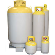 NRP N250T R11 Large Refrigerant Recovery Cylinder, 250 Lbs