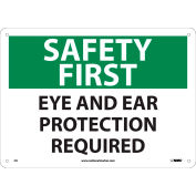 OSHA Custom Sign, Aluminum (.040), 18 x 24