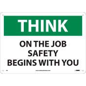OSHA Custom Sign, Reflective Aluminum (.080) 24 x 36