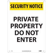 OSHA Custom Sign, Pressure Sensitive Vinyl, 12 x 18