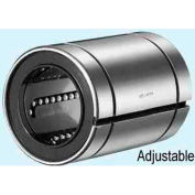"NB Corp SW12UU-AJ 3/4"" ID Clearance Adjustable Type Linear Bearing W/Seals, Steel"