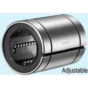 "NB Corp SW6GUU-AJ 3/8"" ID Clearance Adjustable Type Linear Bearing W/Resin Retainer & Seals, Steel"