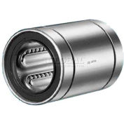 """NB Corp Stainless Steel Closed Linear Bearing W/ Resin Retainer & Seals SWS16GUU, 1""""ID, 2.25""""L"""