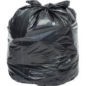 Global Industrial™ Heavy Duty Black Trash Bags - 65-70 Gallon, 1.7 Mil, 100 Bags/Case