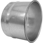 "Nordfab 3282-1000-100000 QF Hose Adapter, 10"" Dia, Galvanized Steel"