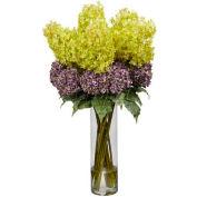 Nearly Natural Giant Mixed Hydrangea Silk Flower Arrangement