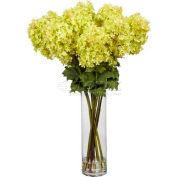 Nearly Natural Giant Hydrangea Silk Flower Arrangement