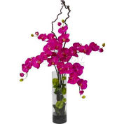 Nearly Natural Giant Phalaenopsis & Hydrangea Silk Flower Arrangement