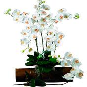 Nearly Natural Phalaenopsis Stem (Set of 12), Cream