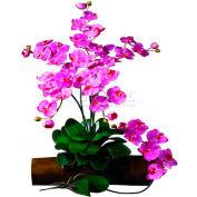 Nearly Natural Phalaenopsis Stem (Set of 12), Dark Pink