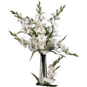 Nearly Natural 36'' Gladiola Stem (Set of 12), White