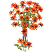 Nearly Natural 28.5'' Cosmo Stem (Set of 12), Orange