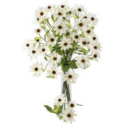Nearly Natural 28.5'' Cosmo Stem (Set of 12), White