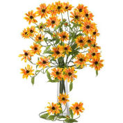 Nearly Natural 28.5'' Cosmo Stem (Set of 12), Yellow