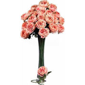 Nearly Natural 31'' Large Rose Stem (Set of 12), Pink