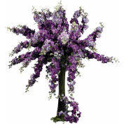 Nearly Natural 38.5'' Delphinium Stem (Set of 12), Purple