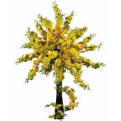 Nearly Natural 38.5'' Delphinium Stem (Set of 12), Yellow