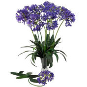 Nearly Natural 29'' African Lily Stem (Set of 12), Purple
