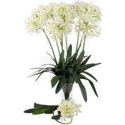 Nearly Natural 29'' African Lily Stem (Set of 12), White
