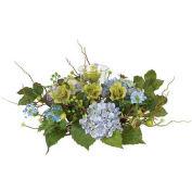Nearly Natural Hydrangea Candelabrum Centerpiece