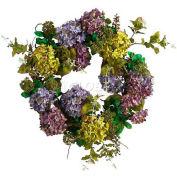 Nearly Natural 24'' Hydrangea Wreath