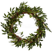 Nearly Natural 20'' Olive Wreath
